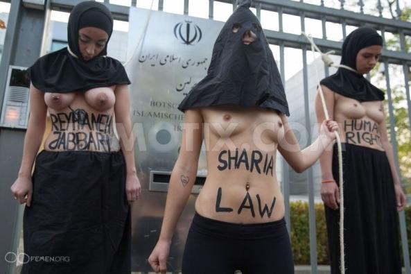 sharia-law-Reyhaneh-Jabbari-sexy-nude-naked-FEMEN-Iranian-embassy-Berlin-German (7)