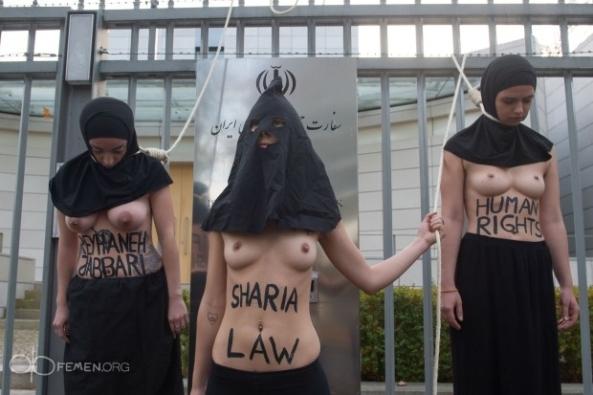sharia-law-Reyhaneh-Jabbari-sexy-nude-naked-FEMEN-Iranian-embassy-Berlin-German (9)